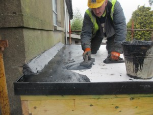 asphalt roof cork